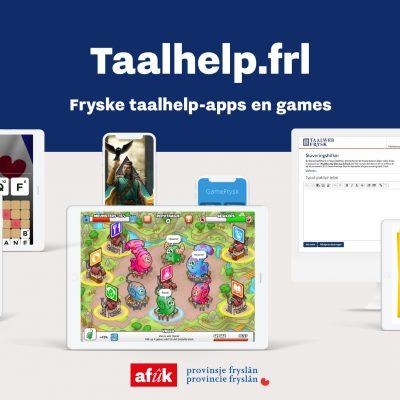 Platfoarm Fryske taalhelp-apps en games online