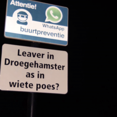'Leaver in Droegehamster as in wiete poes?'