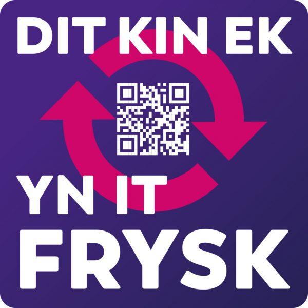 Dit kin ek yn it Frysk sticker